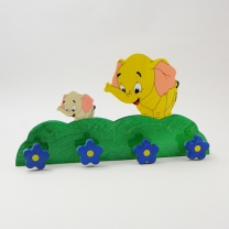Вешалка Семейства(слоненок)