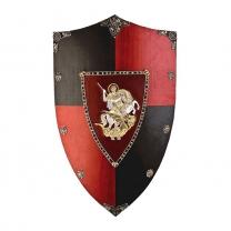 Щит рыцарский - декоративный Георгий Победоносец