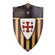 Щит рыцарский - декоративный ордена Тамплиеров Рыцари Иерусалима