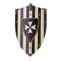 Щит рыцарский - декоративный Госпитальеров