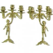 Пара канделябров на 5 свечей