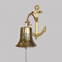 Рында - колокол корабельный TITANIC на кронштейне Якорь