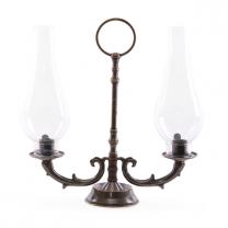 Подсвечник ламповый на 2 свечи