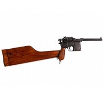 Пистолет классический Маузер с деревянным приставным прикладом