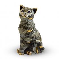 Статуэтка Синий кот полосатый