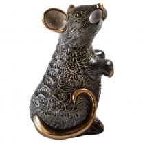 Статуэтка De Rosa Крыса черная