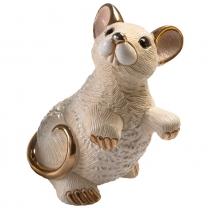 Статуэтка De Rosa Крыса белая