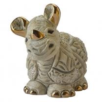 Статуэтка De Rosa Детеныш белого носорога