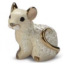 Статуэтка De Rosa Мышонок белый