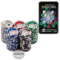 Набор покерных фишек 100