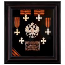 Панно Георгий Победоносец (кресты)