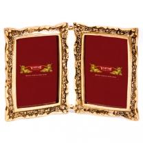 Фоторамка из бронзы Книга двойная