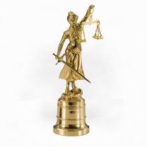 Статуэтка из бронзы Правосудие малая
