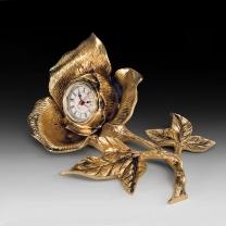 Часы настольные Роза