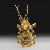 Часы настенные Голова оленя