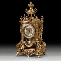 Часы каминные с маятником Франция