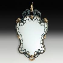 Зеркало настенное Император в бронзовой оправе