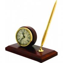 Письменный набор с часами