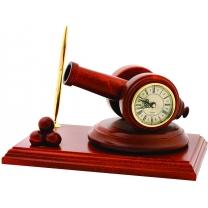 Письменный набор Часы-пушка