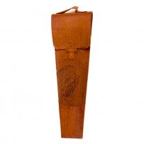 Колчан кожаный для шампуров