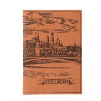 Обложка на паспорт Москва (св. корич.)