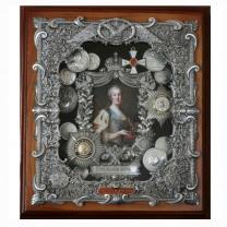 Панно Екатерина II среднего размера