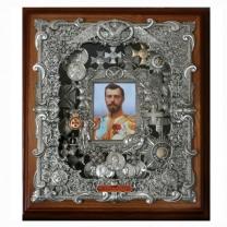 Панно Николай II среднего размера