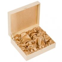 Подарочный футляр под 6 стопок (цв. слоновая кость)