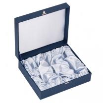 Подарочный футляр под 6 стопок (цв. синий)