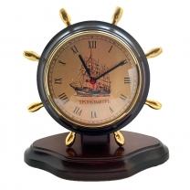 Настольные часы- штурвал