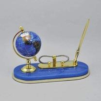 Настольный письменный набор с глобусом